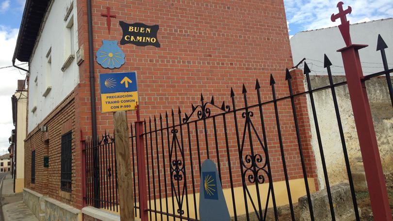 Setas Amarelas no Caminho de Santiago