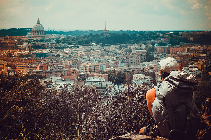Via Francigena - Dia 35 - Lazio - Roma